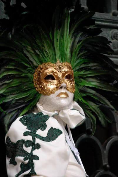 Maschere al carnevale di Venezia