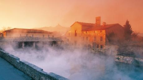 Termeinterredisiena un blog tour dedicato al benessere - Bagno vignoni siena ...