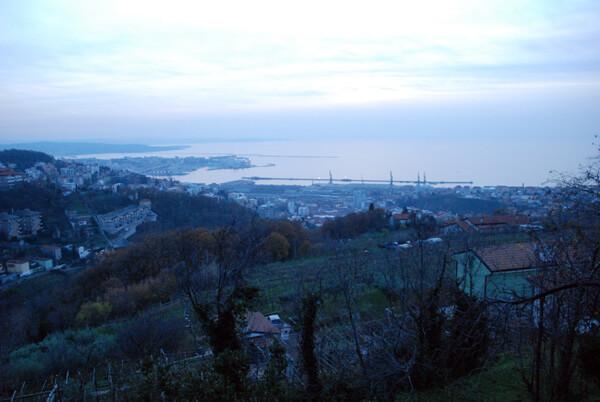 vista su Trieste