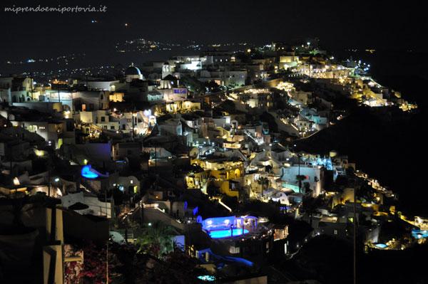 Santorini di sera