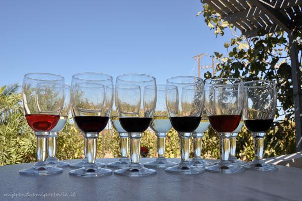Aziende vinicole Santorini