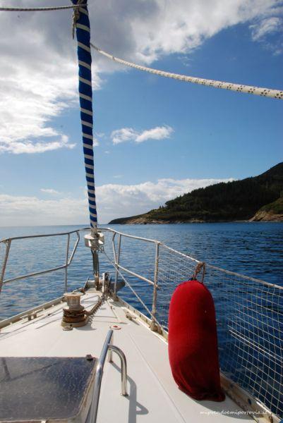 barca a vela all'isola d'elba