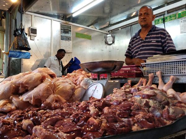 mercato di port luis a mauritius
