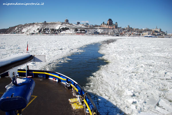 quebec city in inverno