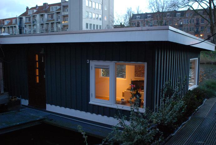 alloggiare in houseboat ad amsterdam