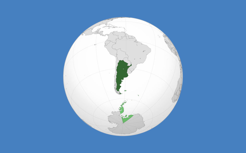 Argentina mappa