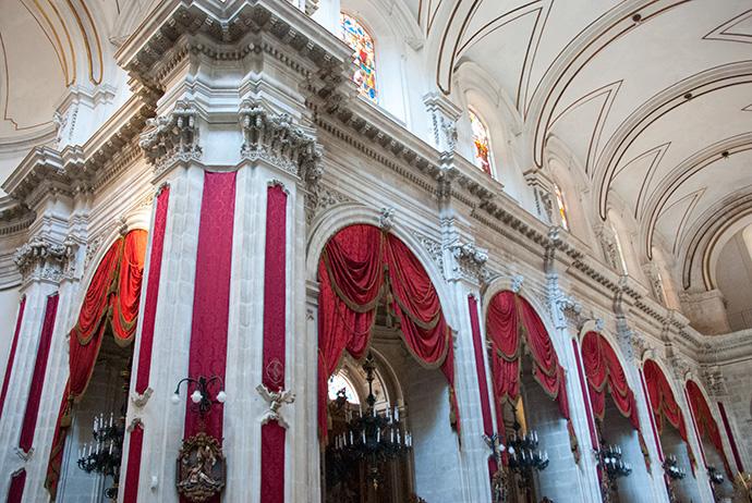 interno Chiesa di Scicli