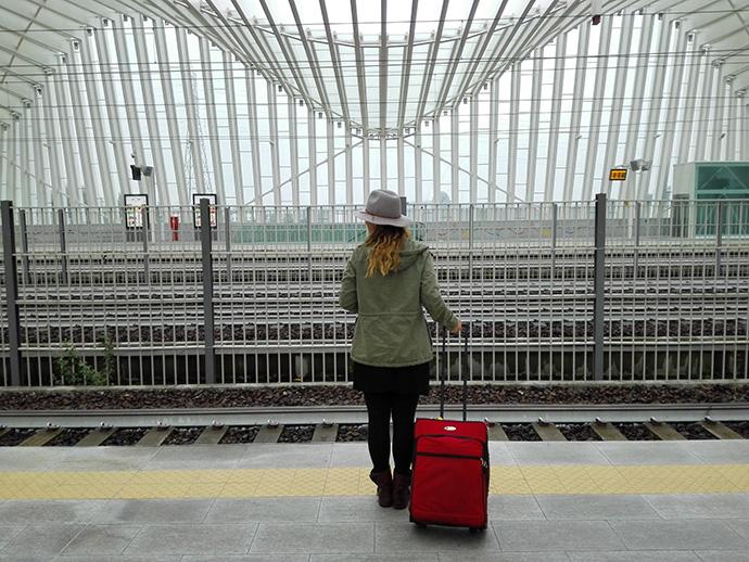 ragazza che ama viaggiare