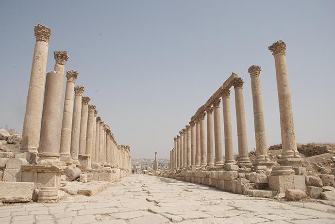 Jerash viaggio in Giordania