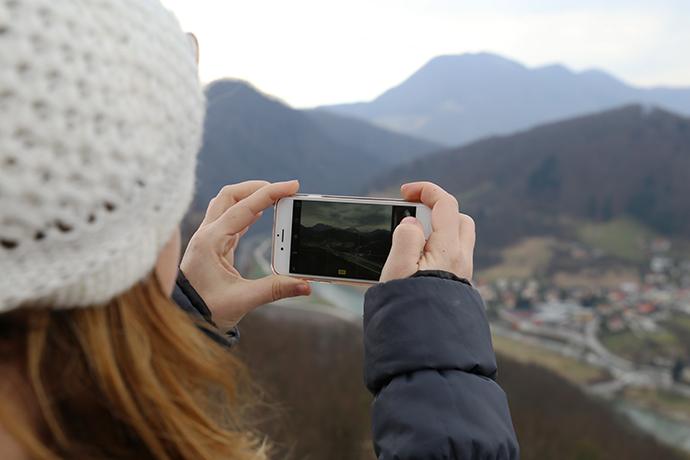 fare foto con reflex su instagram