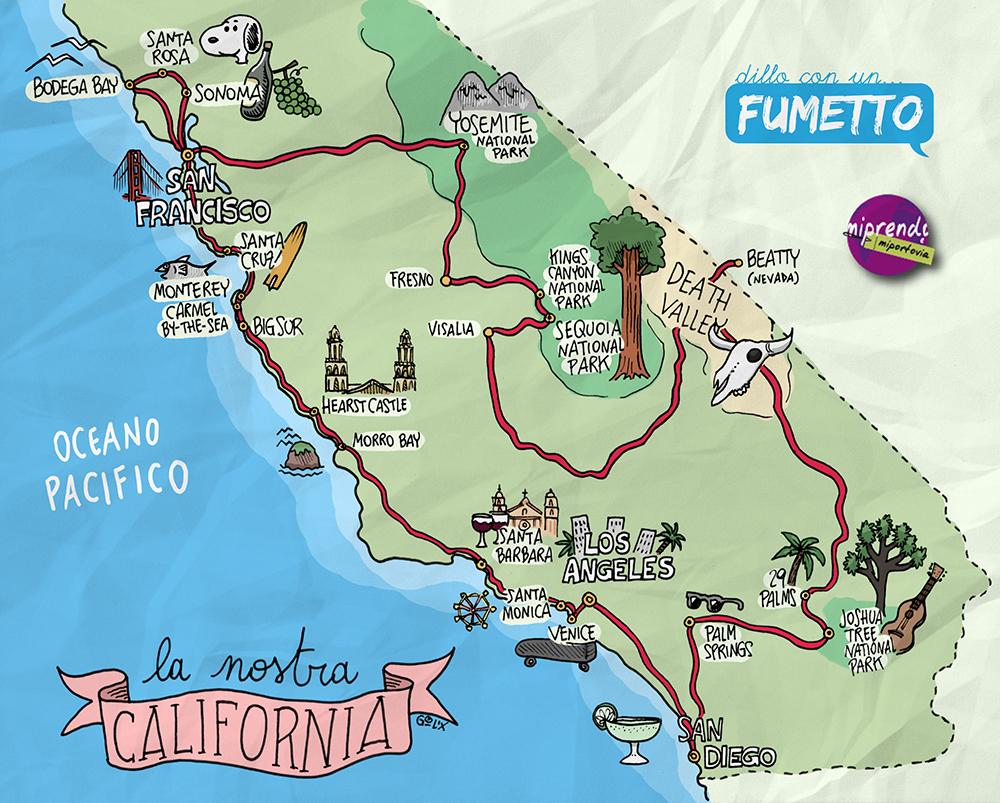 Cartina-California