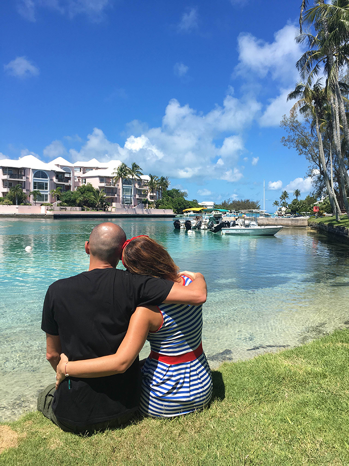 Vacanza romantica a Bermuda