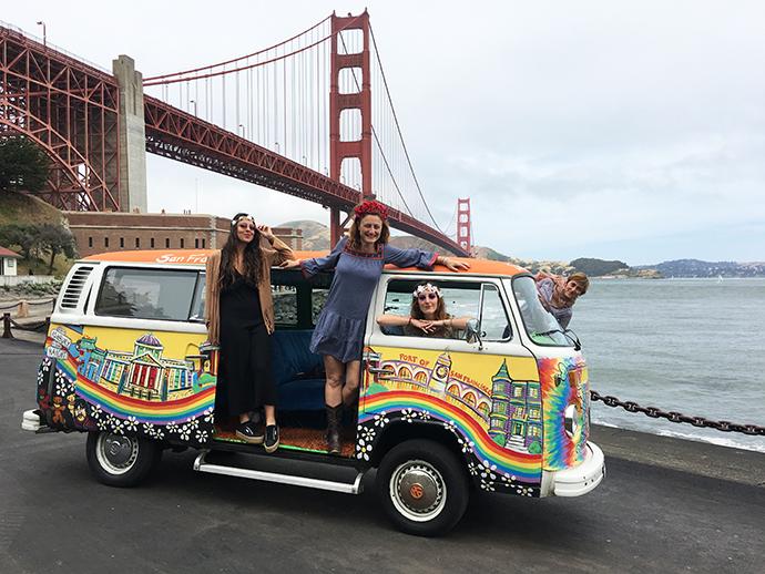 Summer of love San Francisco