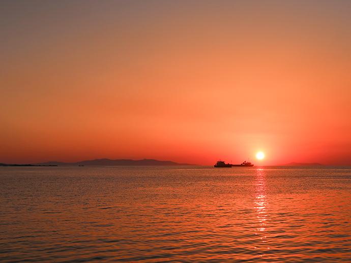 tramonto a Mykonos