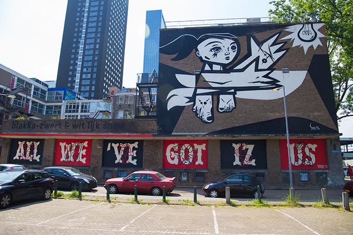 street art Rotterdam Cosa vedere a Rotterdam