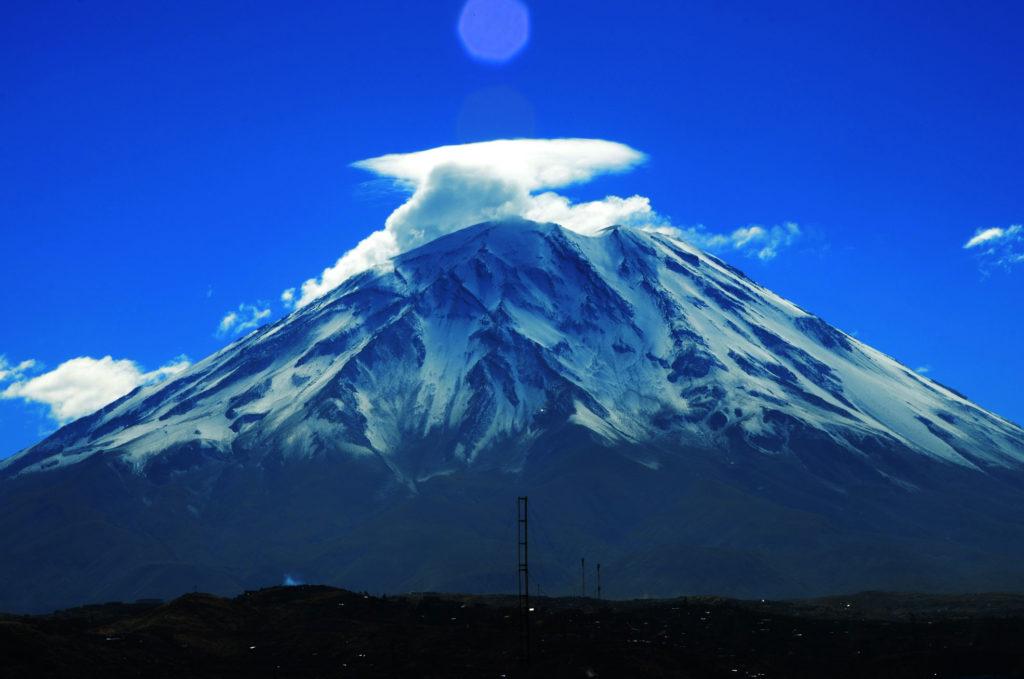 Vulcano Misti Perù
