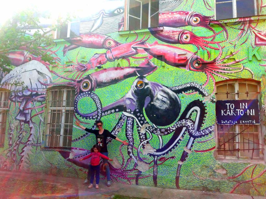 Street art Lubiana