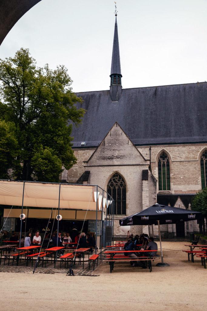 guinguette abbaye cambre