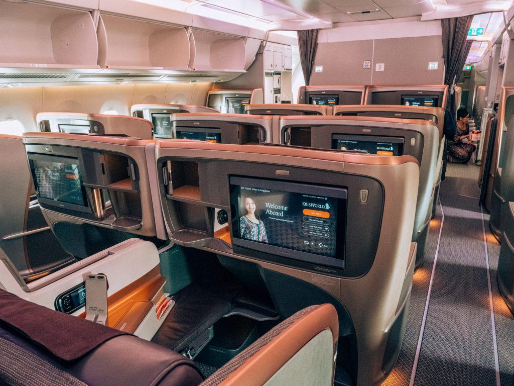 Singapore Airlines businnes