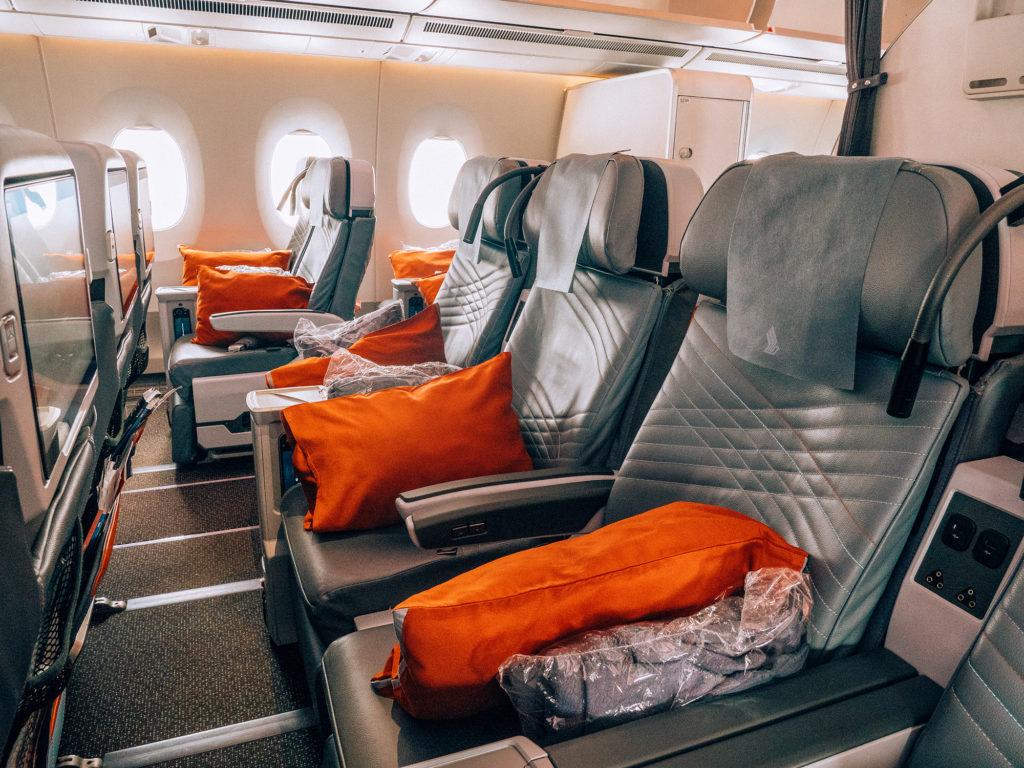 Premium Economy - Singapore Airlines Milano