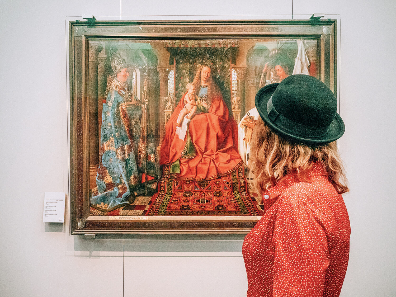 Viaggio nelle Fiandre Van Eyck