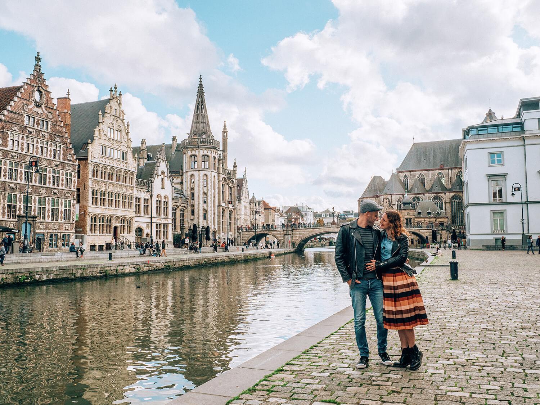 Gent Viaggio nelle Fiandre