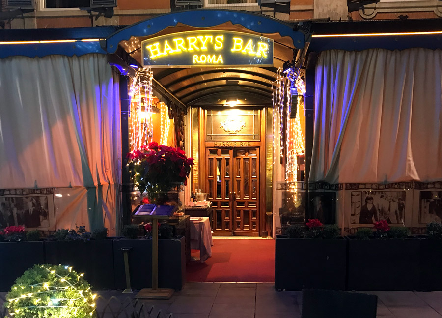 Caffè storici di Roma Harry's Bar