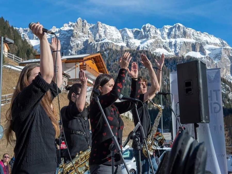 Musica sulle Dolomiti