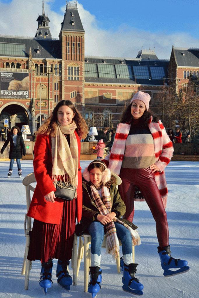 Pattinaggio ad Amsterdam