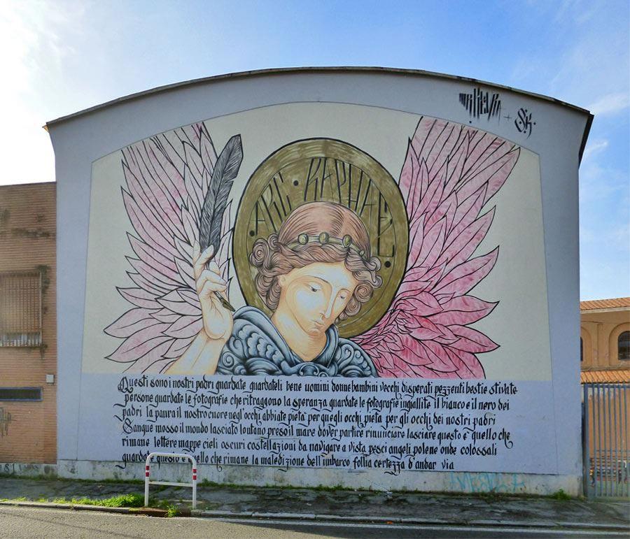 street art via monte del grano
