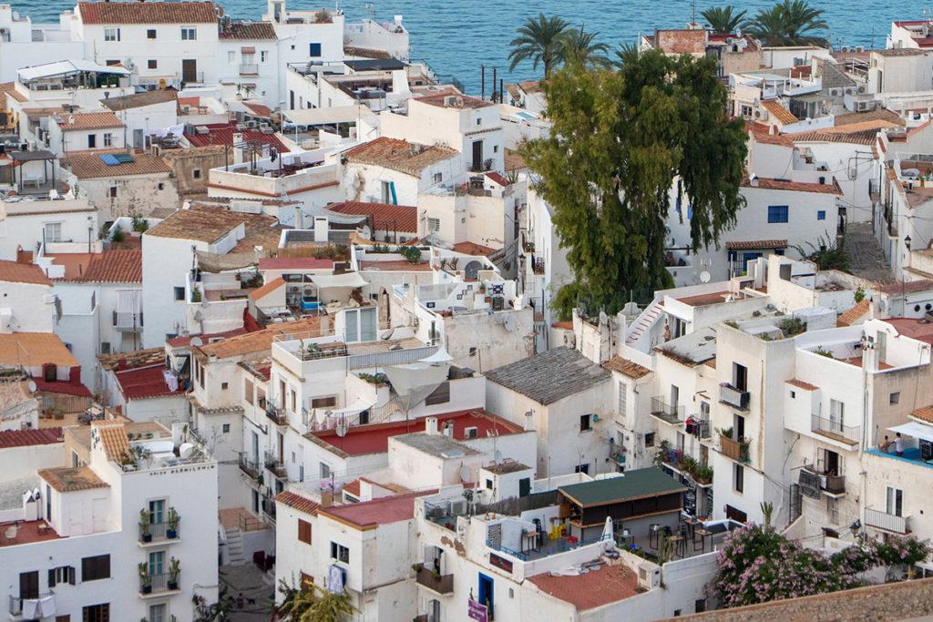 tetti di Ibiza