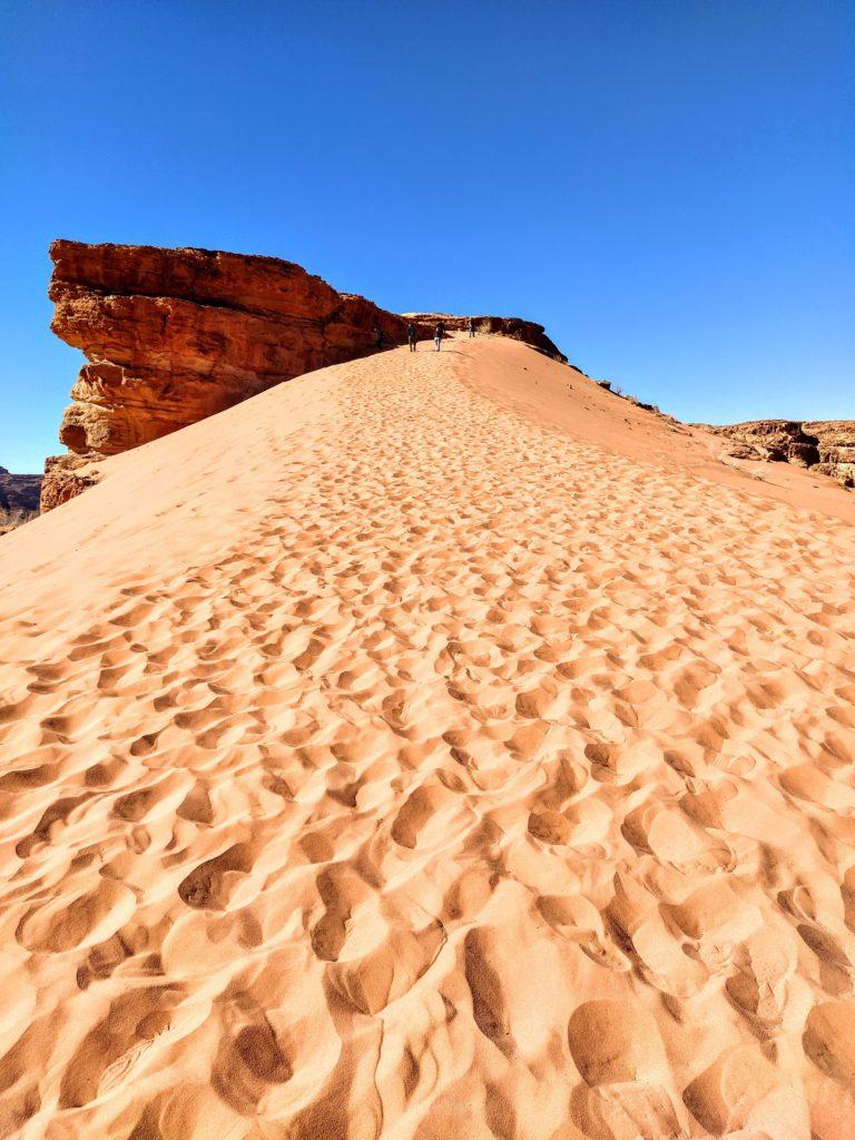 deserto scoperta Giordania