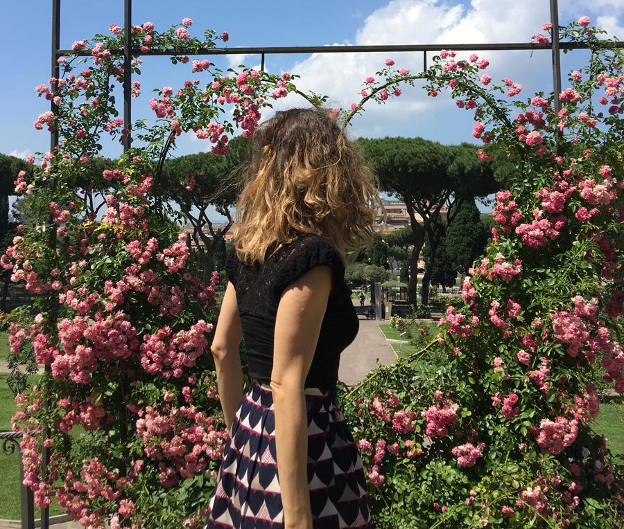 posti instagrammabili Roma roseto di Roma
