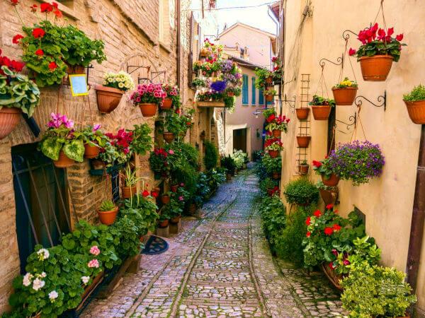 Posti da visitare in Italia Spello
