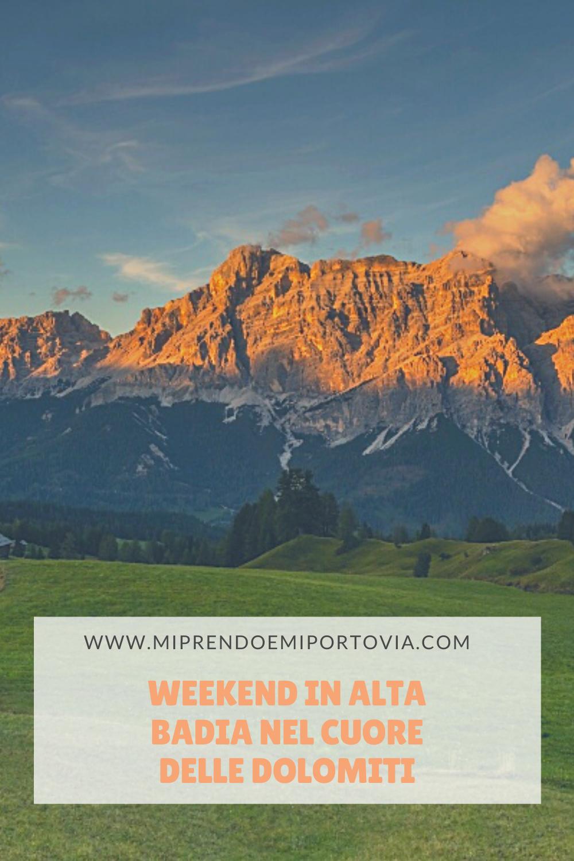 Weekend in Alta Badia