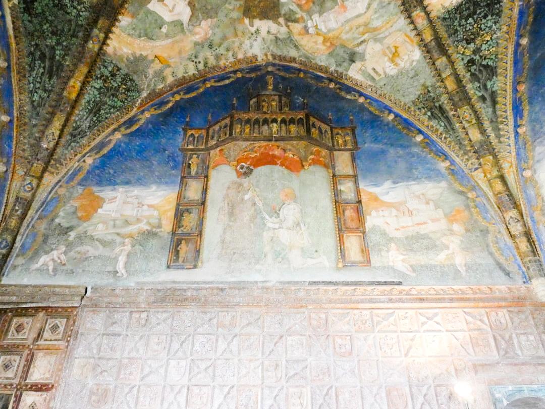 Camera d'oro castello