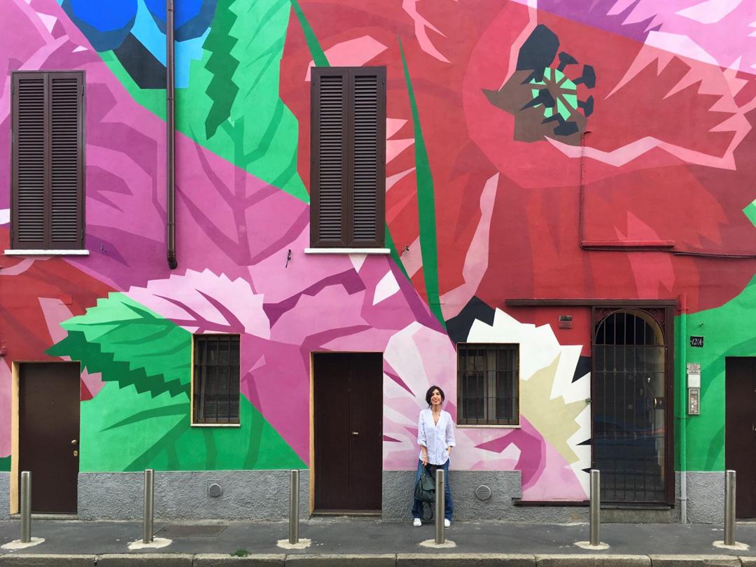 Quartiere murales papaveri