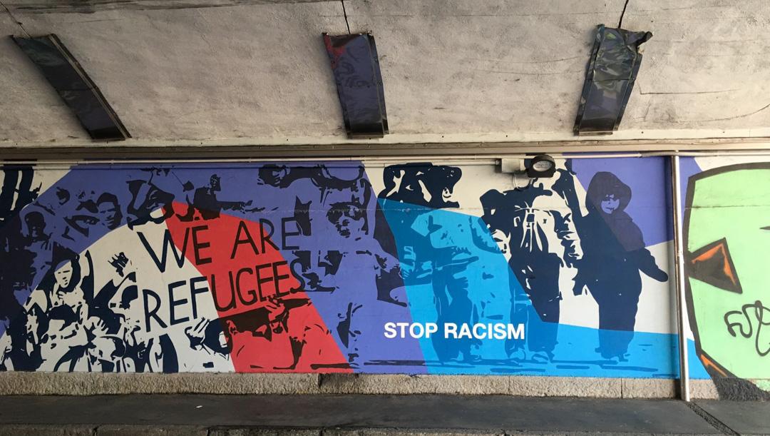 murales stop racism