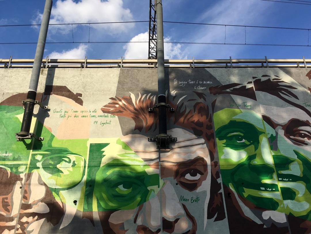 Quartiere murales legalità